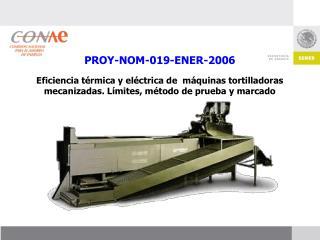 PROY-NOM-019-ENER-2006