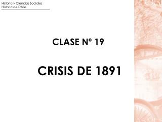 CLASE N� 19