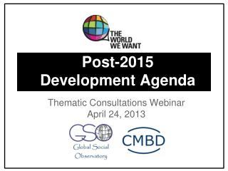 Post-2015 Development Agenda
