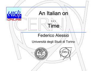 Federico Alessio Università degli Studi di Torino