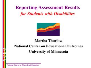 Reporting Assessment Results for Students with Disabilities
