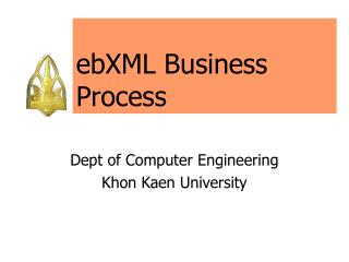 ebXML Business Process
