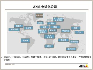 AXIS  全球化公司