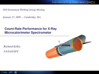 Count-Rate Performance for X-Ray Microcalorimeter Spectrometer
