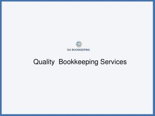 Online Bookkeeping And Accounting Services