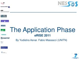 The Application Phase  eRISE  2011