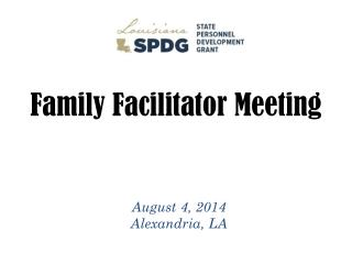 Family Facilitator Meeting