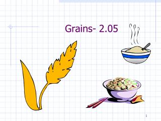 Grains- 2.05