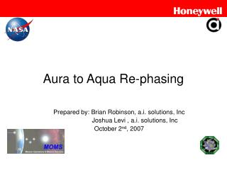 Aura to Aqua Re-phasing