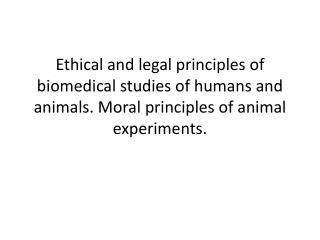 The area of special ethical risk