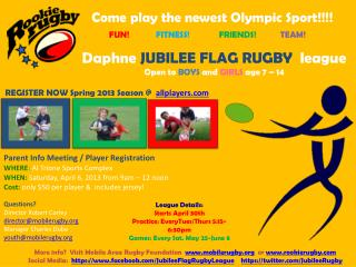 Come play the newest Olympic Sport!!!!