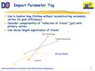 Impact Parameter Tag