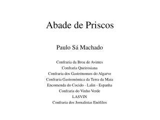 Abade de Priscos