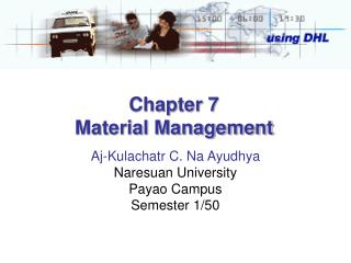 Chapter 7 Material Management