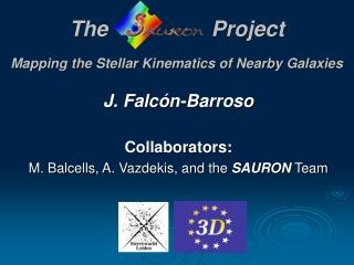 TheProject Mapping the Stellar Kinematics of Nearby Galaxies