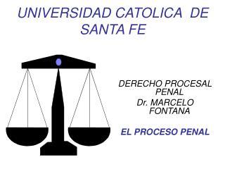 UNIVERSIDAD CATOLICA  DE SANTA FE