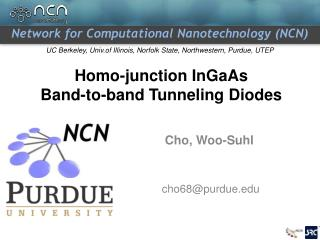 Homo-junction InGaAs  Band-to-band Tunneling Diodes