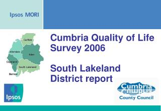 Cumbria Quality of Life Survey 2006 South Lakeland District report
