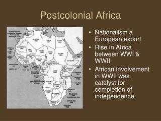 Postcolonial Africa