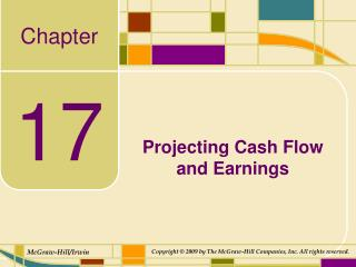 Projecting Cash Flow and Earnings