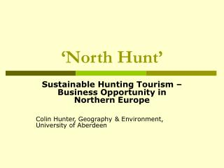 'North Hunt'