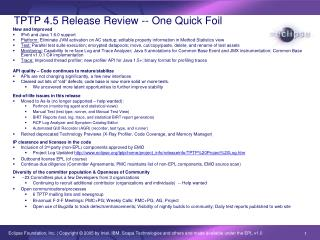 TPTP 4.5 Release Review -- One Quick Foil