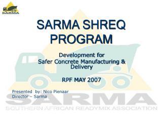 SARMA SHREQ PROGRAM