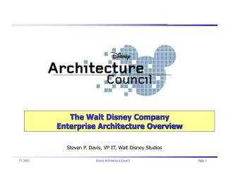 The Walt Disney Company Enterprise Architecture Overview