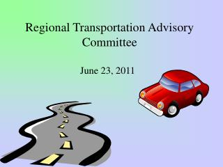 Regional Transportation Advisory Committee