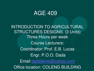 AGE 409