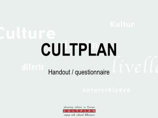 CULTPLAN