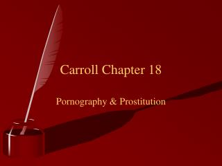 Carroll Chapter 18