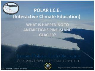 POLAR I.C.E.   (Interactive Climate Education)