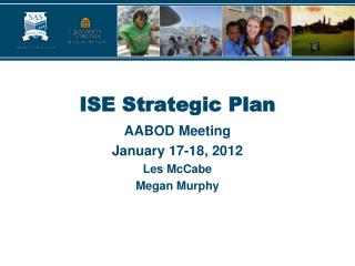 ISE Strategic Plan