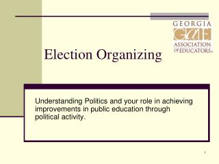 Election Organizing