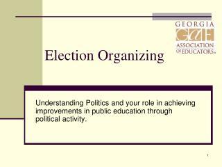 Election Organizing