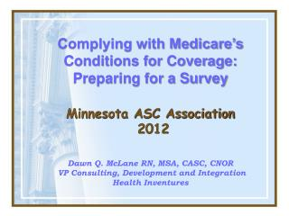 Minnesota ASC Association  2012