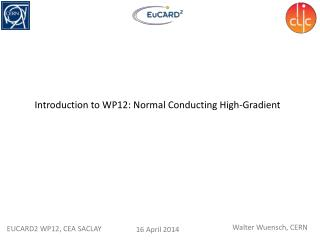 Introduction to WP12: Normal Conducting High-Gradient