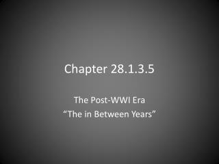 Chapter  28.1.3.5