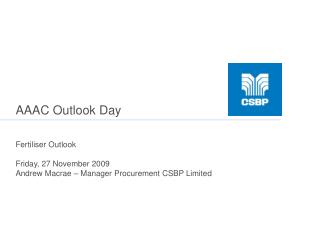 AAAC Outlook Day