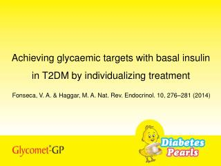 Achieving glycaemic targets with basal insulin in T2DM by individualizing treatment