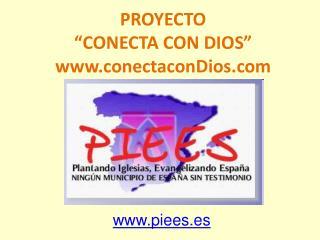 """PROYECTO """"CONECTA CON DIOS"""" conectaconDios"""