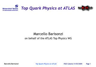 Top Quark Physics at ATLAS
