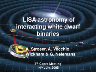 LISA astronomy of interacting white dwarf binaries