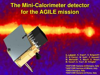 The Mini-Calorimeter detector for the AGILE mission