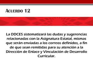 Acuerdo 12