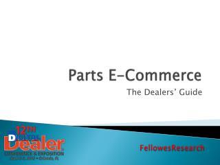 Parts E-Commerce