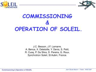 SOLEIL Synchrotron