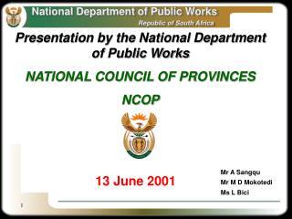 13 June 2001
