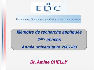 Dr. Amine CHELLY